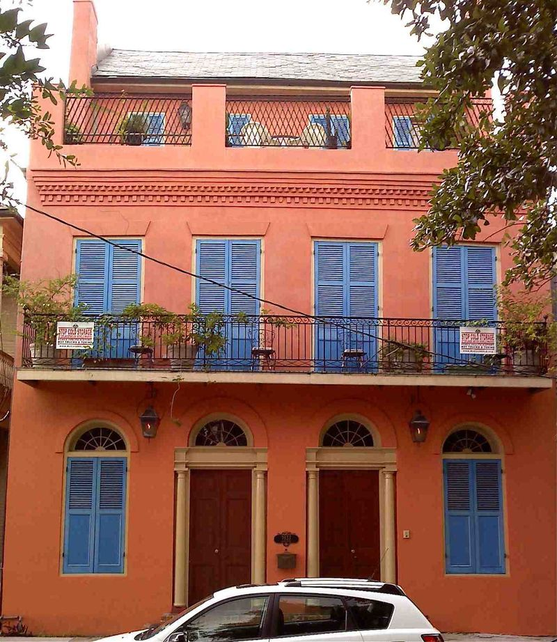 New Orleans House Colors: French Quarter