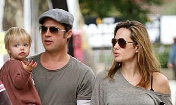 Angelina Jolie Brad Pitt New Orleans