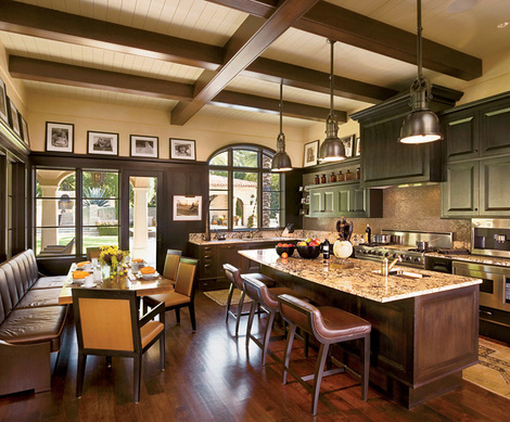 Lance Armstrong's Austin kitchen
