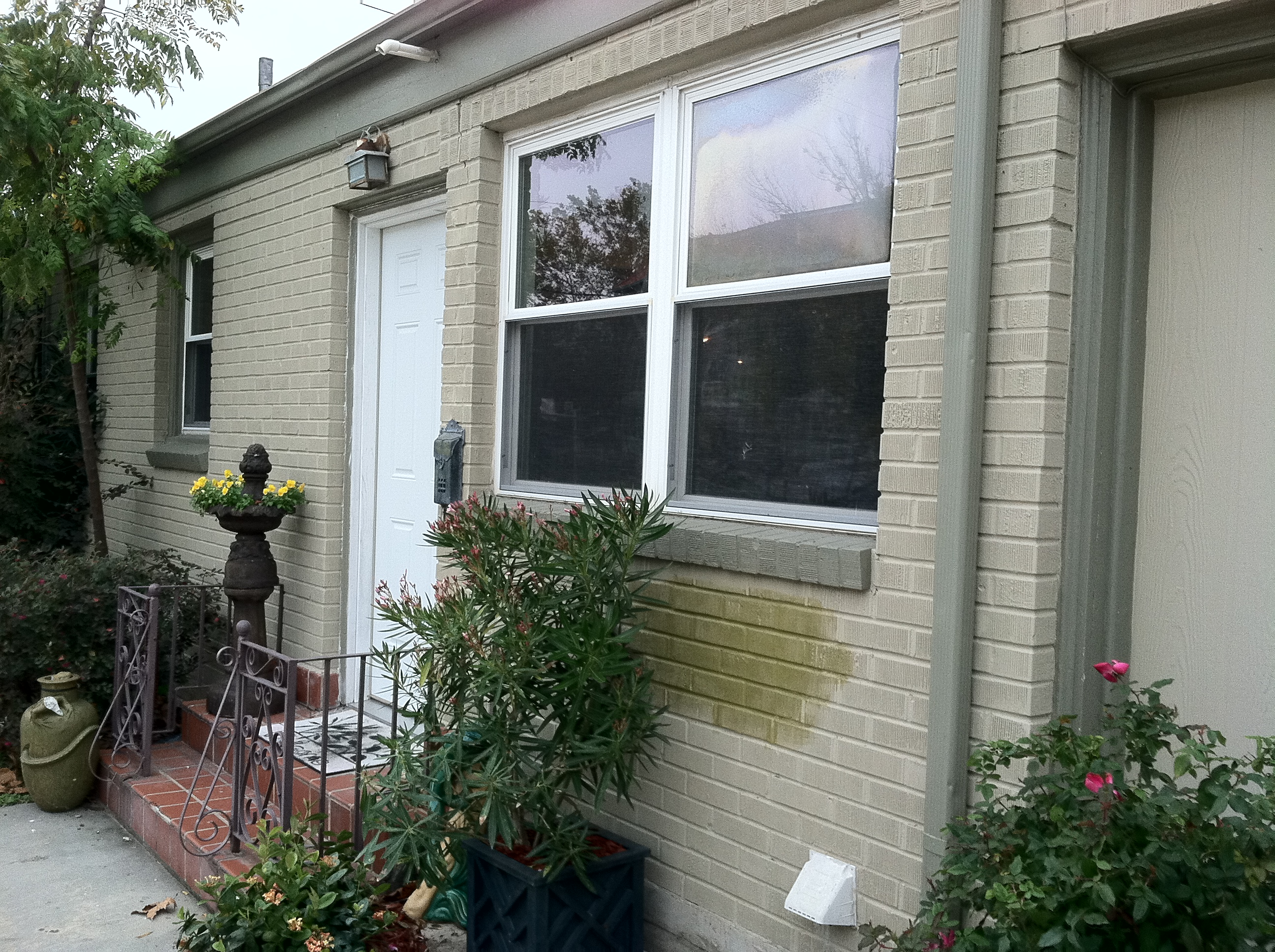 Dispatch From New Orleans House Paint Colors Olive Green Exterior Color Transitional