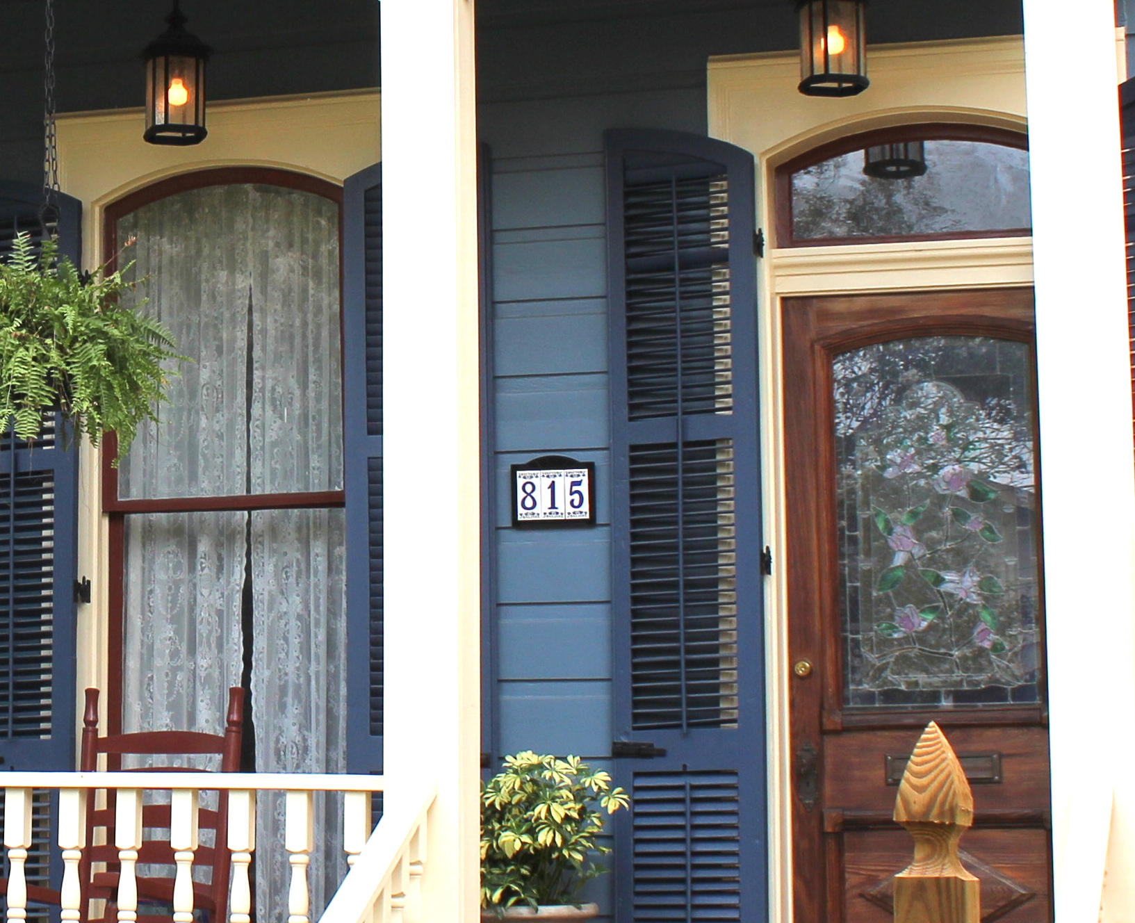Blue exterior paint colors home design New orleans paint colors