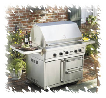Viking gas range